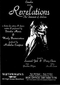 Revelations, The Testament of Salome